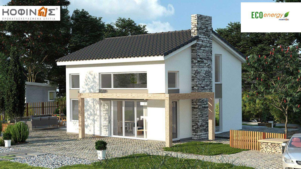 Ισόγεια Κατοικία KIS2-100 (100,37m²) featured image