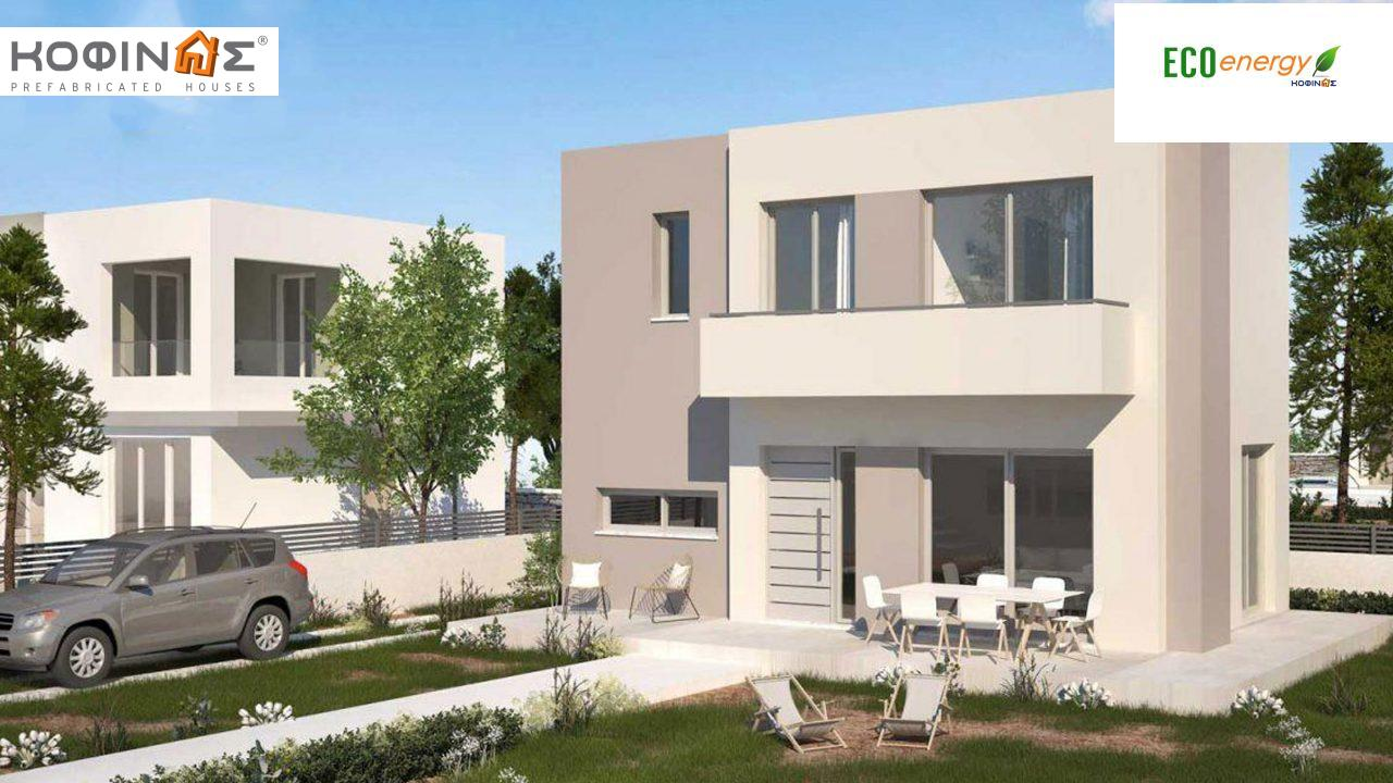 2-story house D-84b, total surface of 84,52 m²,roofed areas 5.15 m²,balconies 5.15 m² featured image