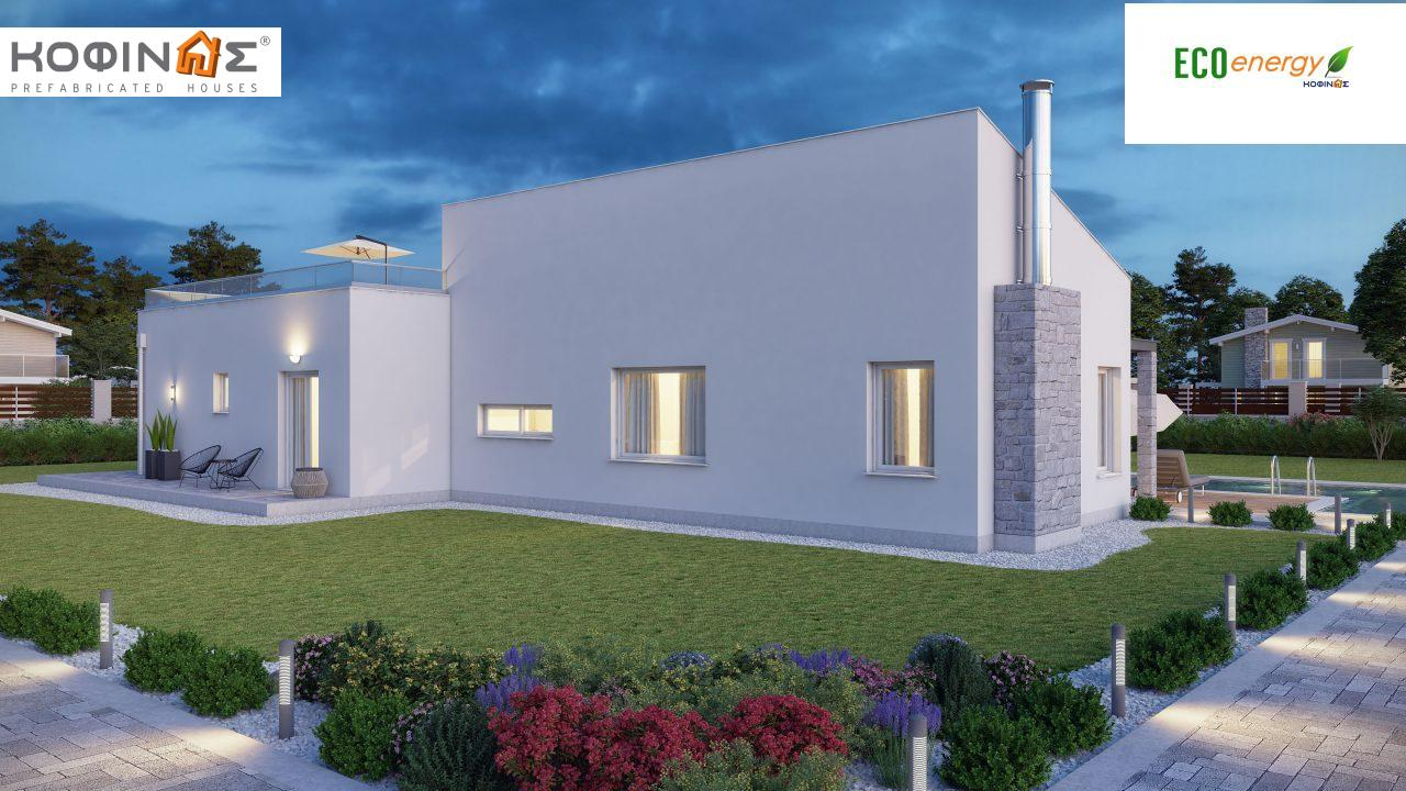 Complex of 2-story houses D-224, total surface of 224,68 m² ,roofed areas 24.88 m²,balconies 75.44 m²2