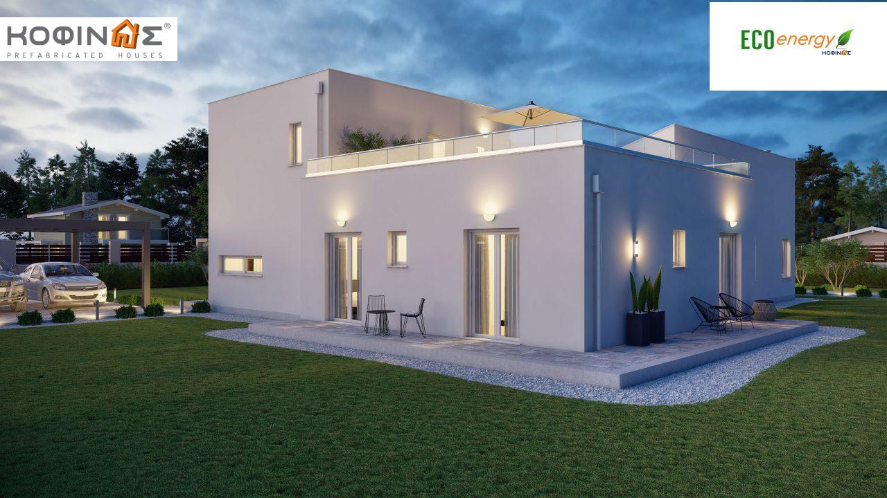 Complex of 2-story houses D-224, total surface of 224,68 m² ,roofed areas 24.88 m²,balconies 75.44 m²3
