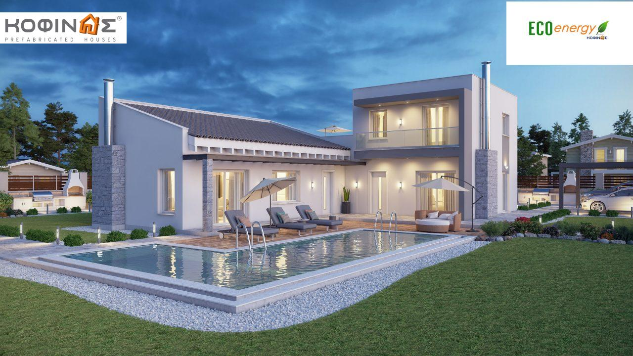 Complex of 2-story houses D-224, total surface of 224,68 m² ,roofed areas 24.88 m²,balconies 75.44 m² featured image