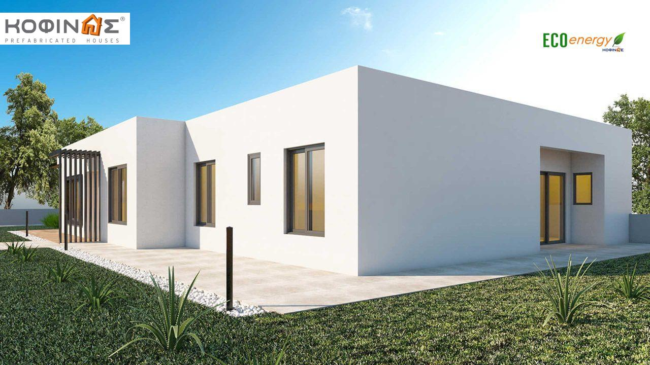 1-story house I-160, total surface of 160 m²0