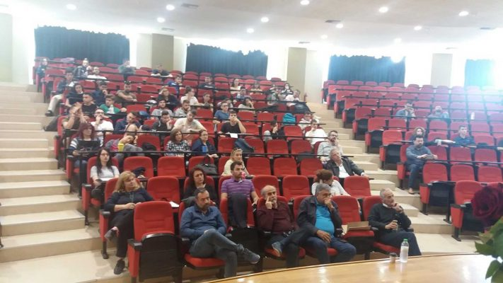 Διάλεξη στο Πανεπιστήμιο Θεσσαλίας