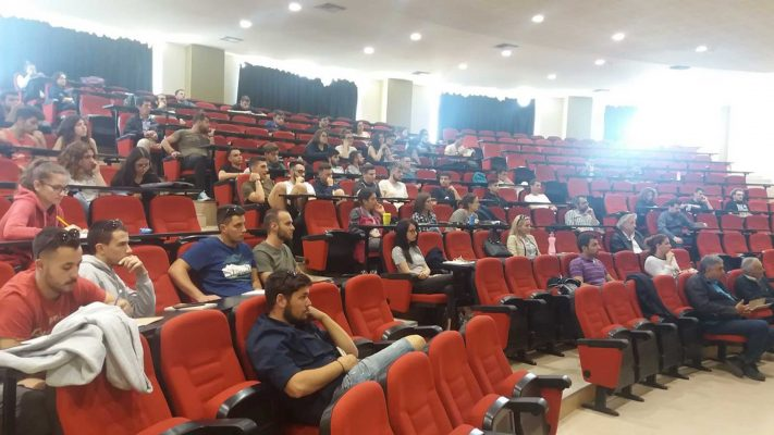 Lecture at the University of Thessaly