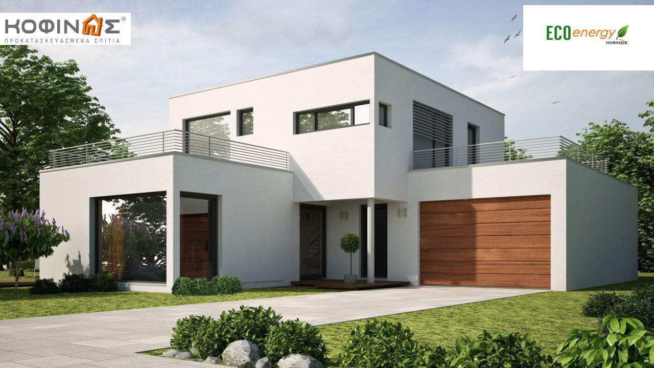 Διώροφη Κατοικία D-161, συνολικής επιφάνειας 161.27 τ.μ. featured image