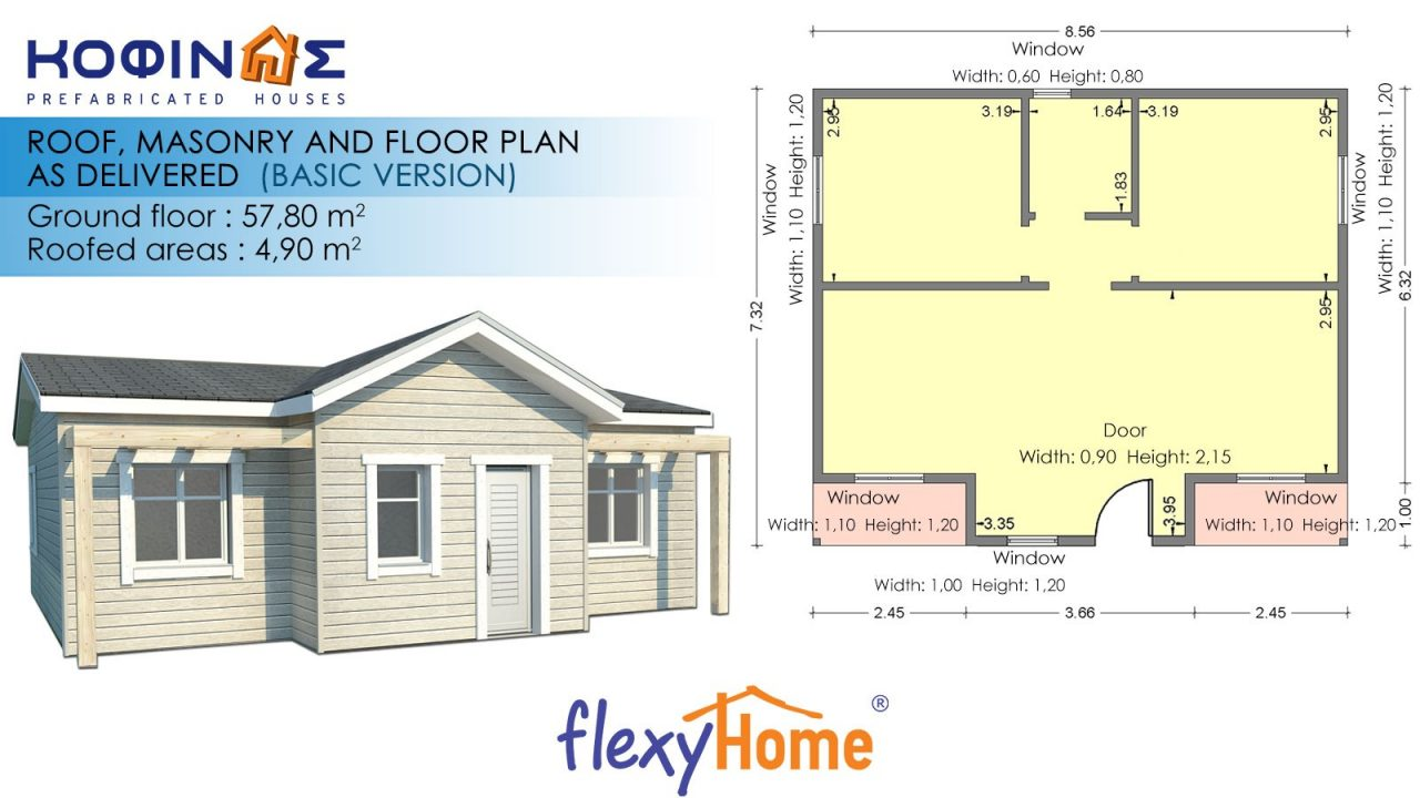 1-story Flexyhome IF-583