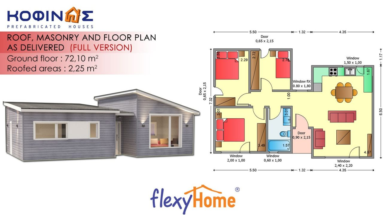 1-story Flexyhome IF-721
