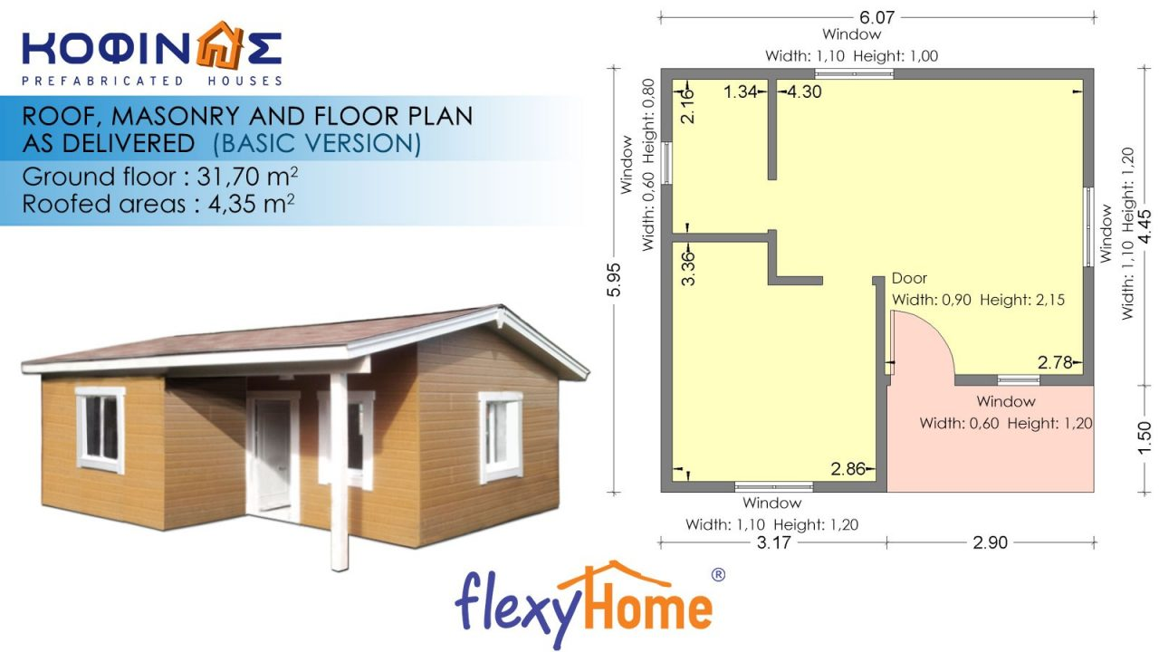 1-story Flexyhome IF-311