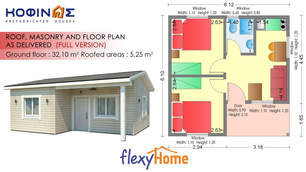 1-story Flexyhome IF-322