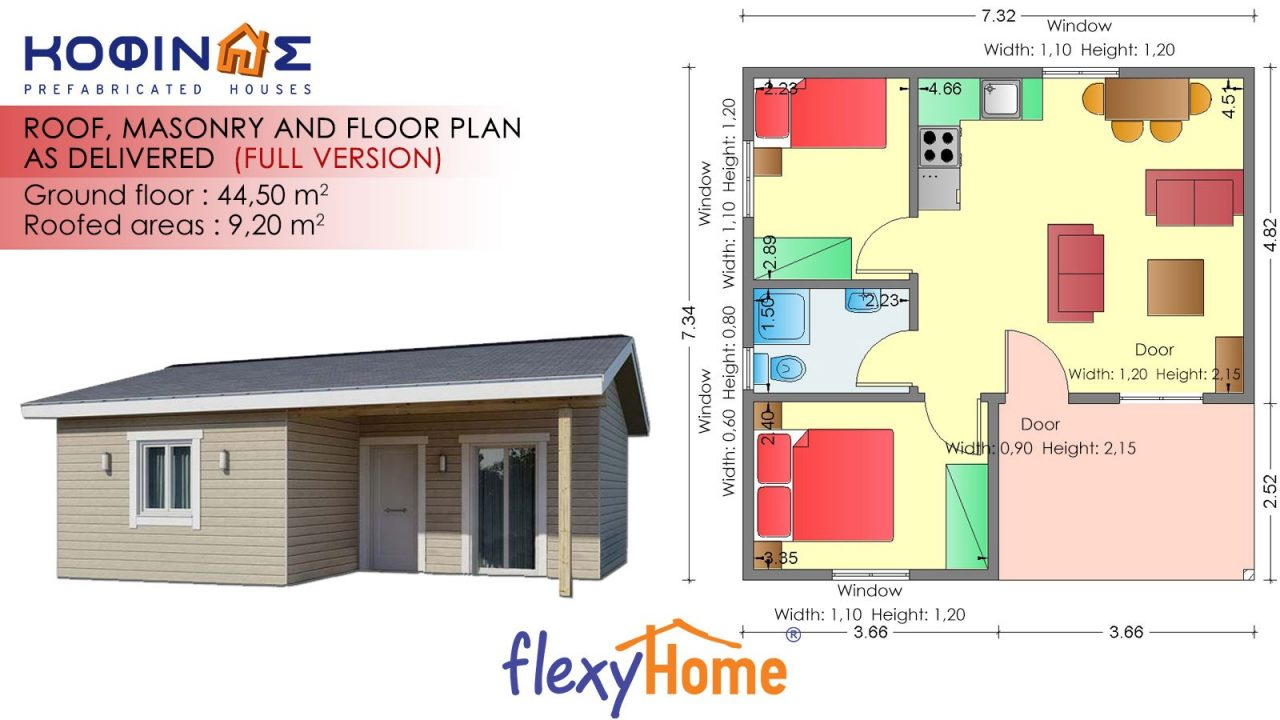 1-story Flexyhome IF-441