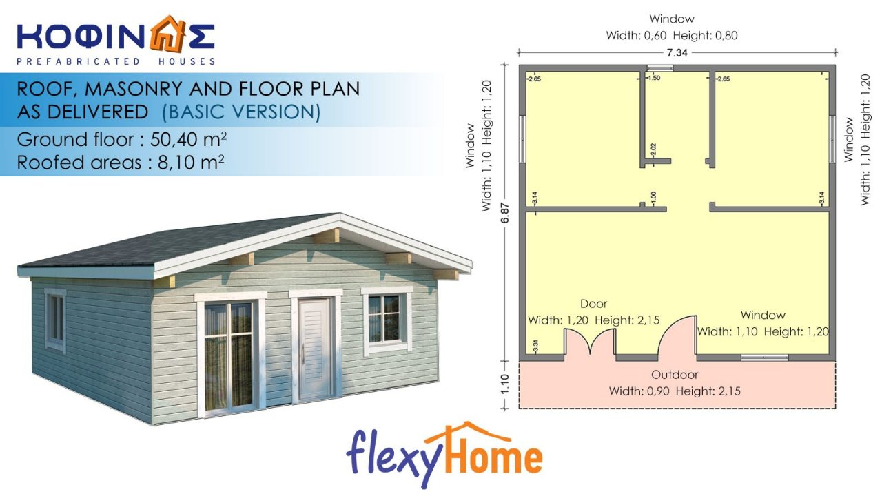1-story Flexyhome IF-503