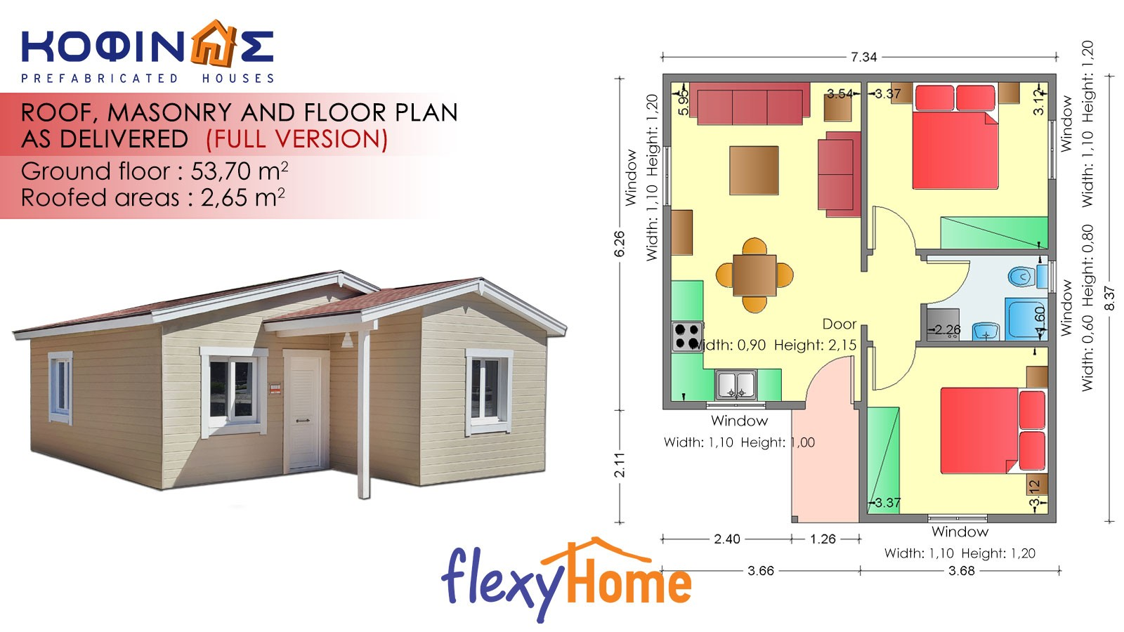 1-story Flexyhome IF-53