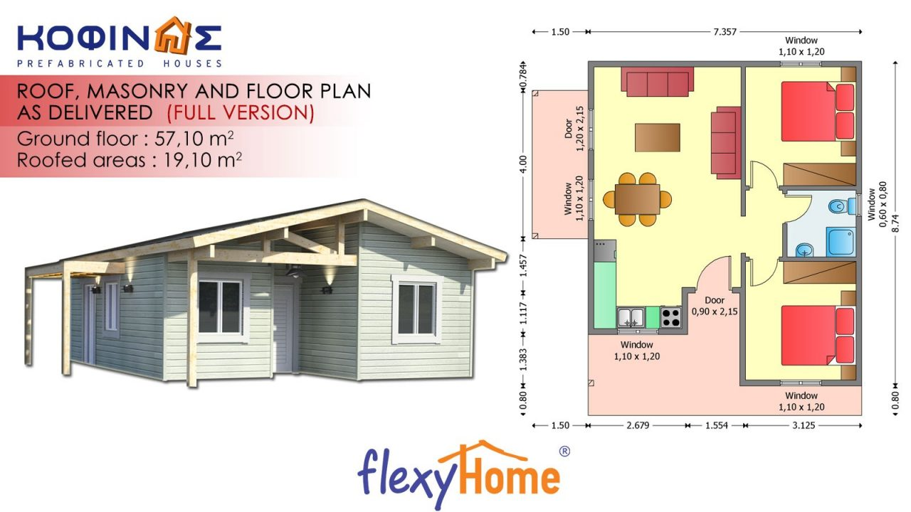 1-story Flexyhome IF-571