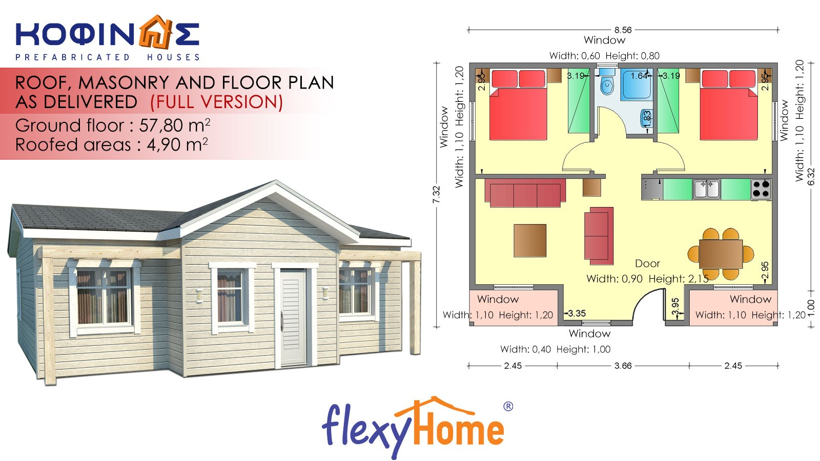 1-story Flexyhome IF-58