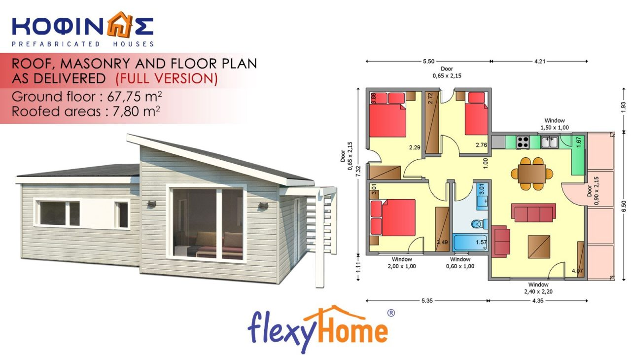 1-story Flexyhome IF-671