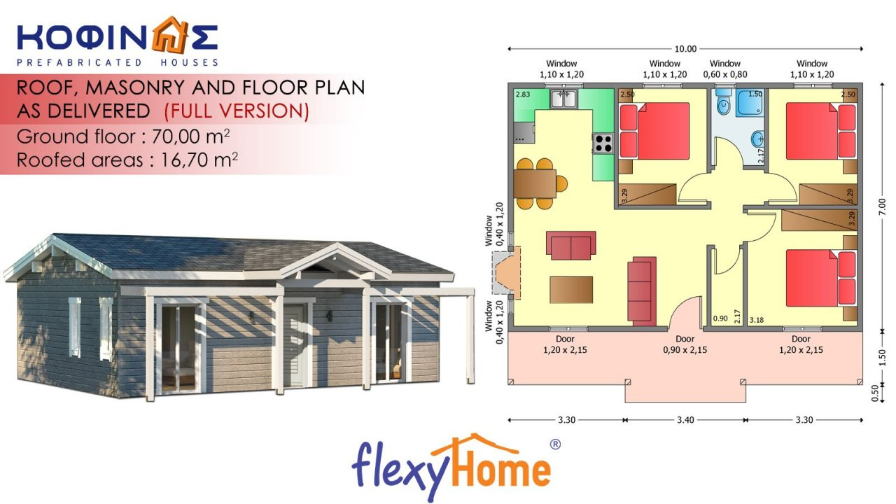 1-story Flexyhome IF-701