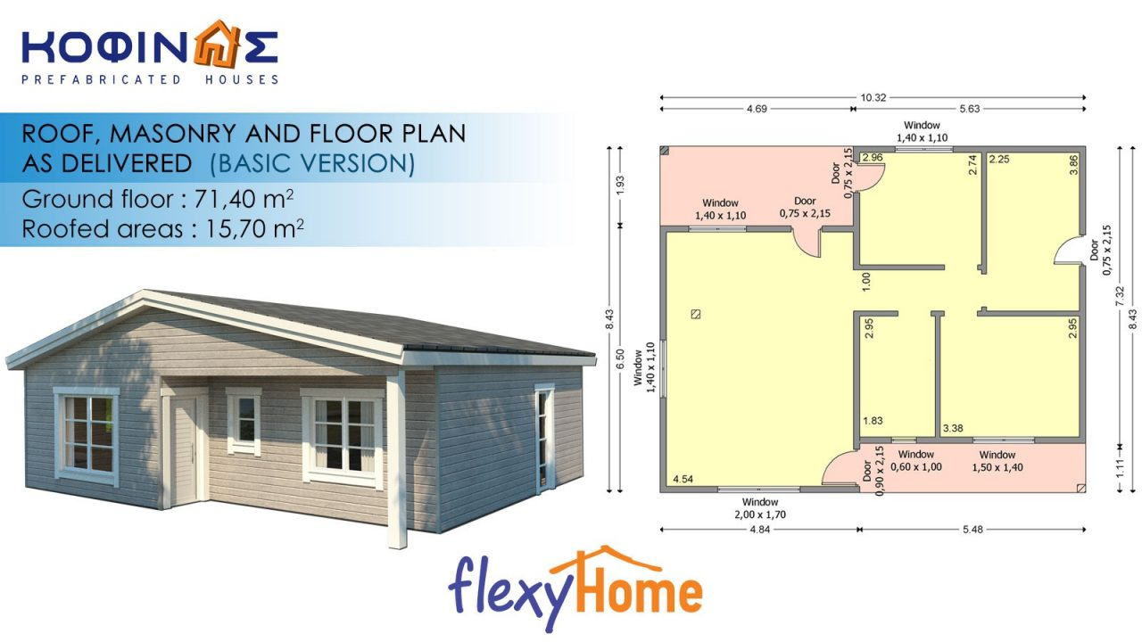1-story Flexyhome IF-713
