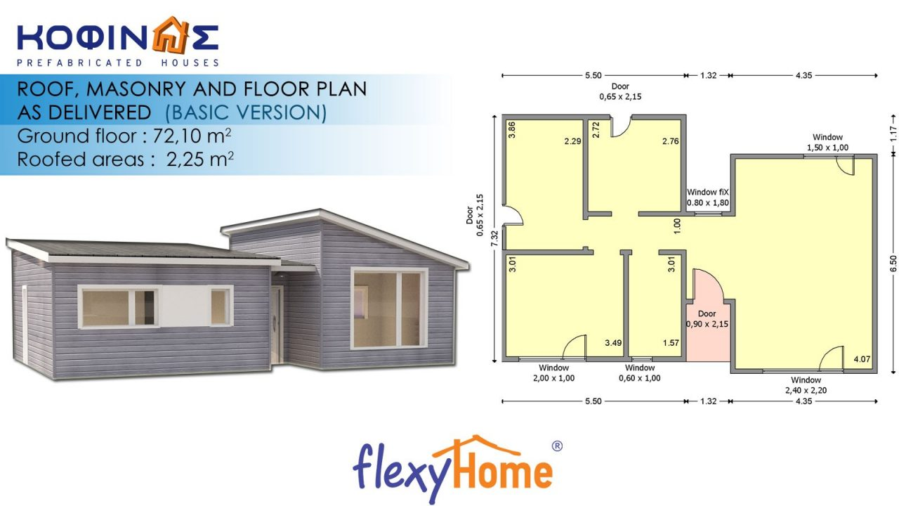 1-story Flexyhome IF-723