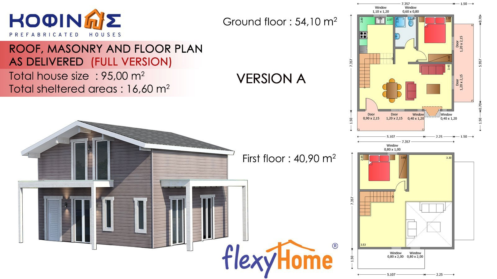 1-story with attic Flexyhome ISF 95
