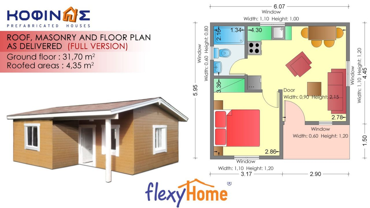 1-story Flexyhome IF-312