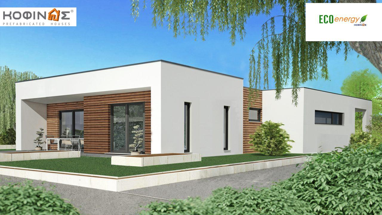 1-story house I-106a, total surface of 106,20 m², roofed areas 23,50 m² featured image