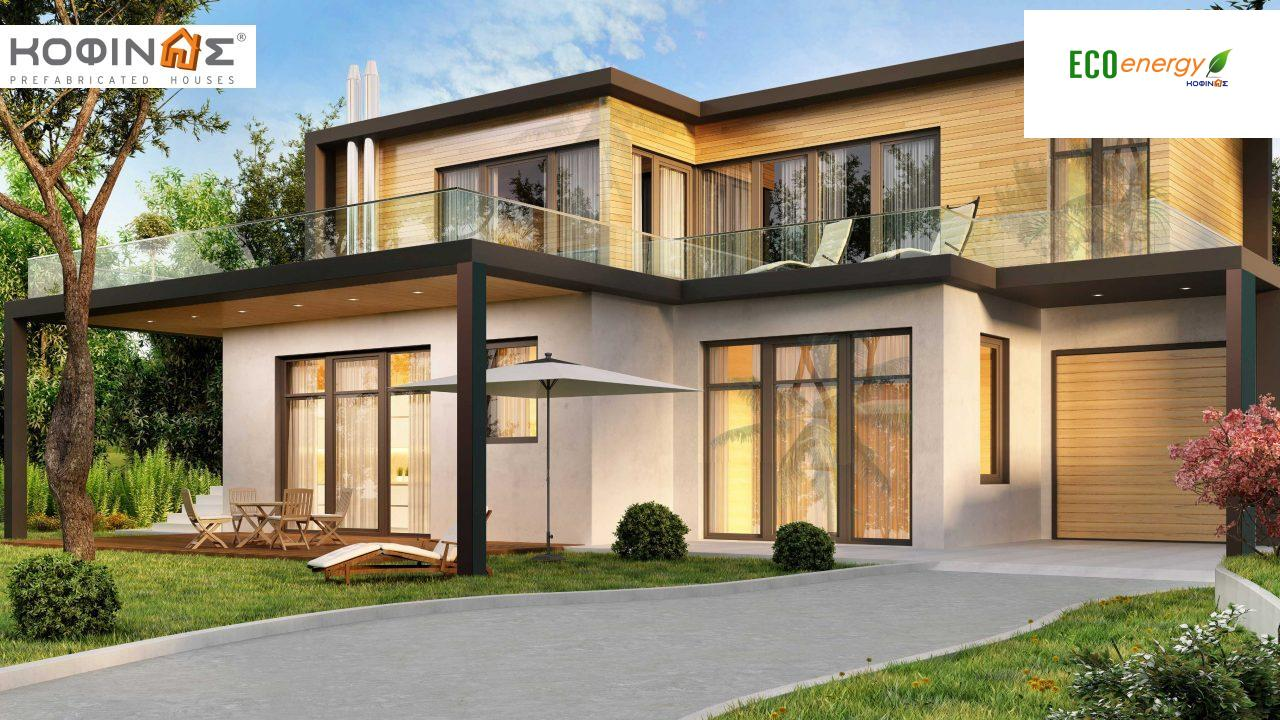 Two-story house D-171, with a total area of 171.21 sq.m. featured image