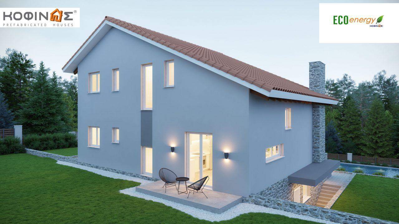 Two story house D-262, total surface 262.37 m²1