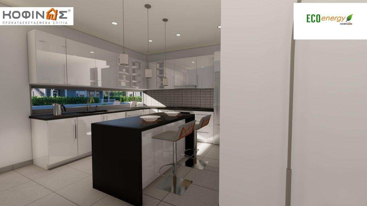 Ισόγεια Κατοικία I-119, συνολικής επιφάνειας 119,08 τ.μ., +Γκαράζ 25.80 m²(=144,88 m²),συνολική επιφάνεια στεγασμένων χώρων 47,64 τ.μ.6