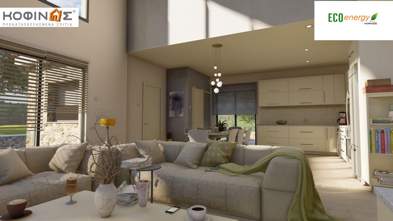 Διώροφη κατοικία D 183, συνολικής επιφάνειας 183,34 τ.μ.,+Γκαράζ 26,11 m²(=209,45 m²), στεγασμένοι χώροι 45,02 τ.μ., και μπαλκόνι (περίπτωση Β) 16.56 τ.μ.7