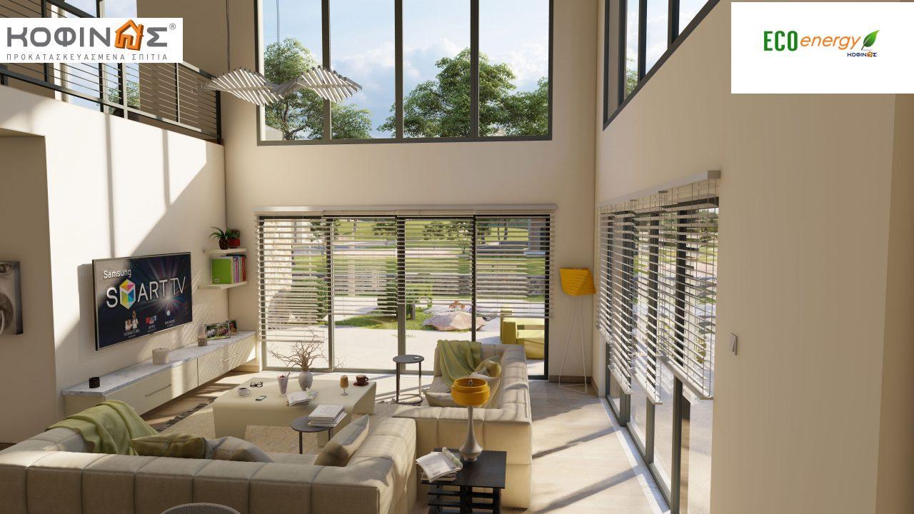 Διώροφη κατοικία D 183, συνολικής επιφάνειας 183,34 τ.μ.,+Γκαράζ 26,11 m²(=209,45 m²), στεγασμένοι χώροι 45,02 τ.μ., και μπαλκόνι (περίπτωση Β) 16.56 τ.μ.8