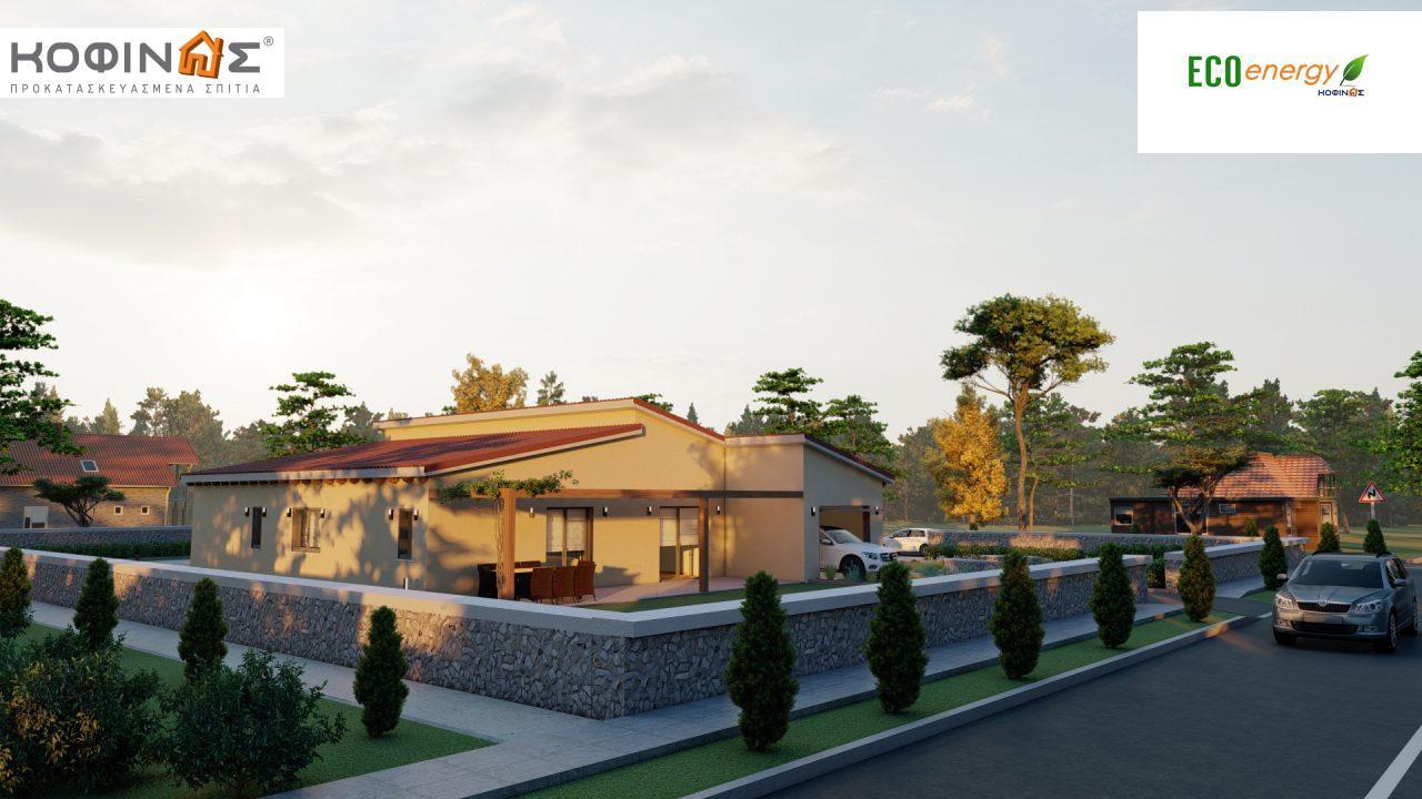Ισόγεια κατοικία Ι-160α, συνολικής επιφάνειας 160,66 τ.μ., στεγασμένοι χώροι 63,80 τ.μ.35