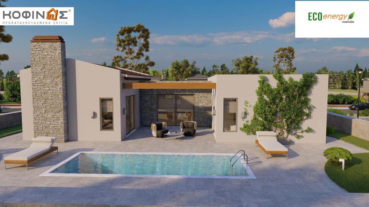 Ισόγεια Κατοικία I-134, συνολικής επιφάνειας 134,28 τ.μ., στεγασμένοι χώροι 29,60 τ.μ. featured image