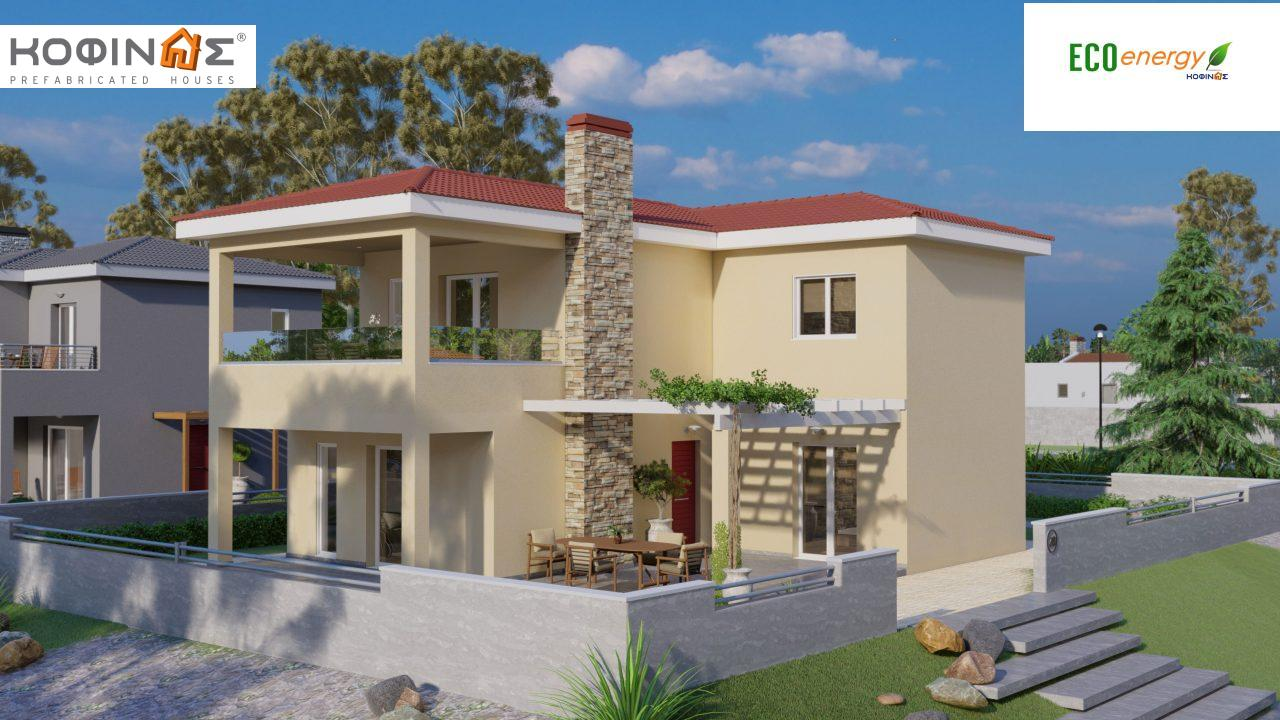 2-story house D-149, total surface of 149,13 m²,roofed areas 36.47 m²,balconies 19.22 m² featured image