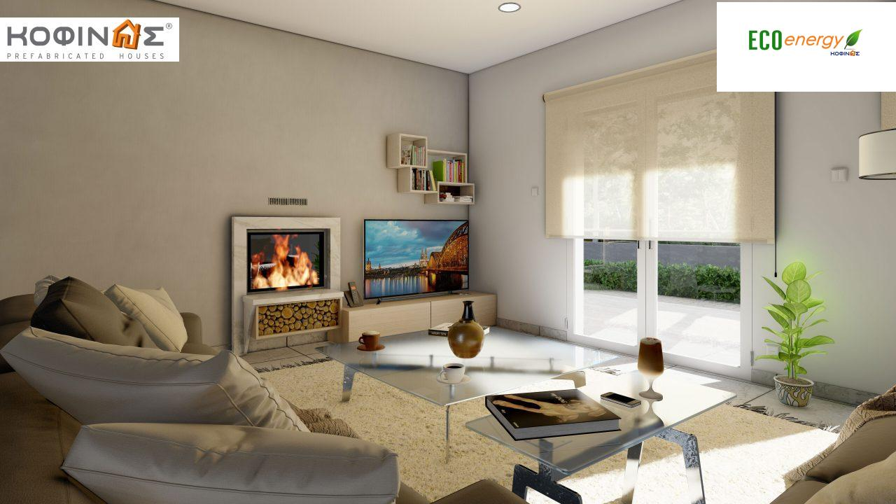 2-story house D-149, total surface of 149,13 m²,roofed areas 36.47 m²,balconies 19.22 m²7