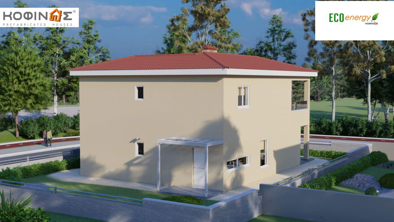 2-story house D-149, total surface of 149,13 m²,roofed areas 36.47 m²,balconies 19.22 m²1