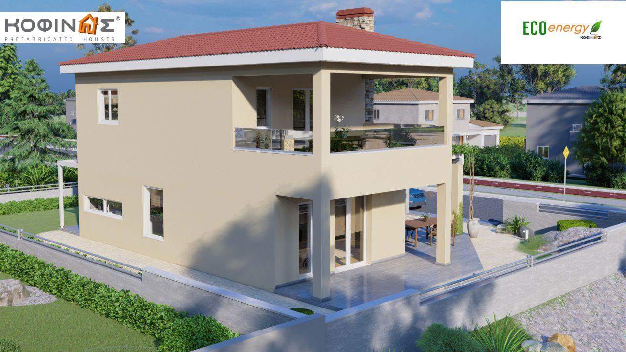 2-story house D-149, total surface of 149,13 m²,roofed areas 36.47 m²,balconies 19.22 m²3