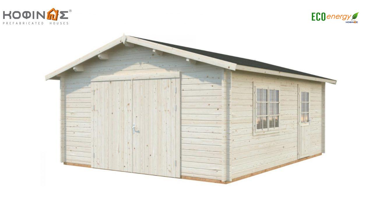 Garage G-23, total area 23.90 m² featured image