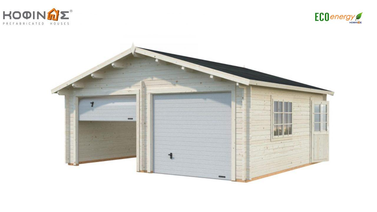 Garage G-28, total area 28.40 m² featured image