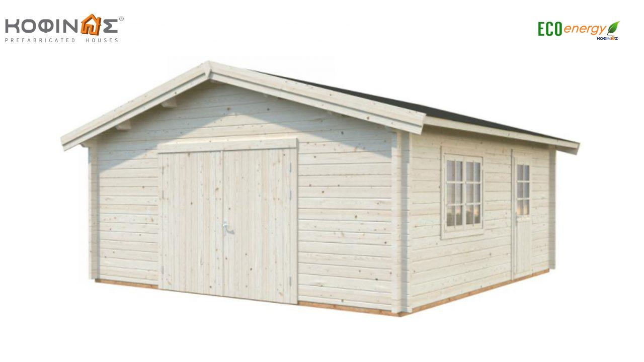 Garage G-27, total area 27.70 m² featured image