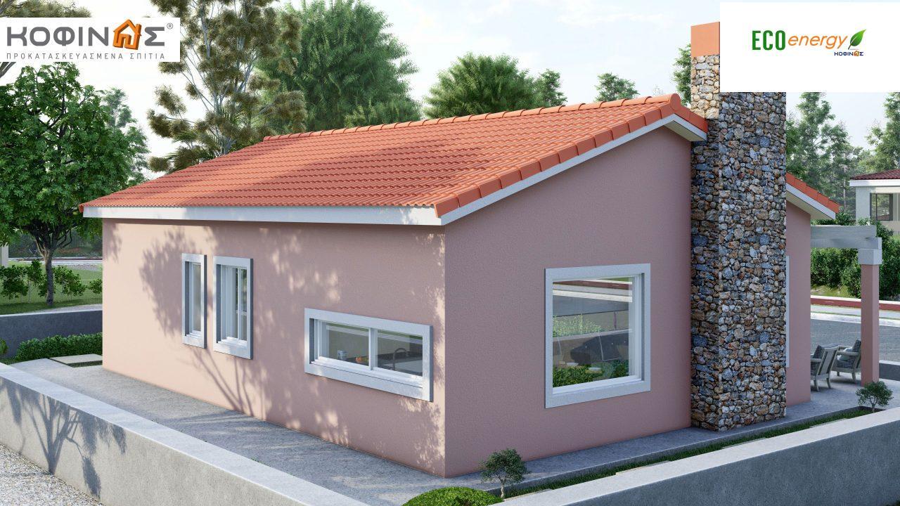 Ισόγεια Κατοικία I-77 συνολικής επιφάνειας 77,00 τ.μ., στεγασμένοι χώροι 20,71 τ.μ4