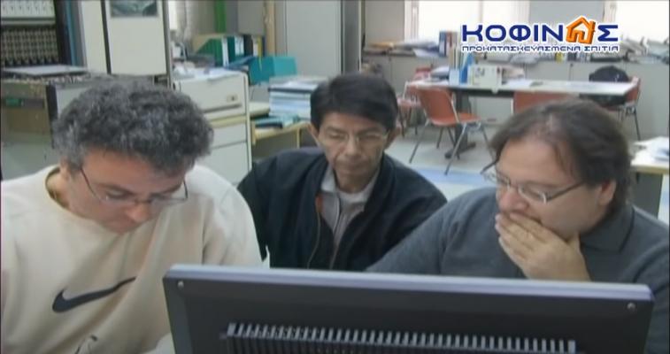 Ομάδα καθηγητών του ΕΜΠ που μελετάει το πείραμα των προκατασκευασμένων σπιτιών ΚΟΦΙΝΑΣ