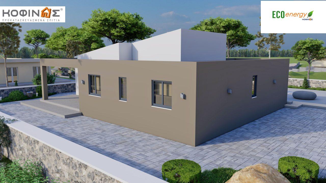 Ισόγεια Κατοικία I-117, συνολικής επιφάνειας 117,99 τ.μ., στεγασμένοι χώροι 39,99 τ.μ.1