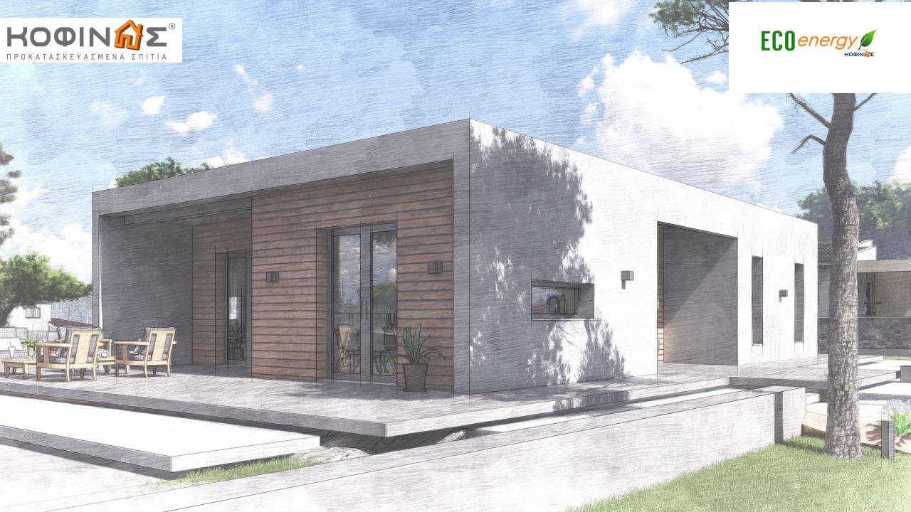 Ισόγεια Κατοικία I-113 συνολικής επιφάνειας 113,24 τ.μ., στεγασμένοι χώροι 19,18 τ.μ.5