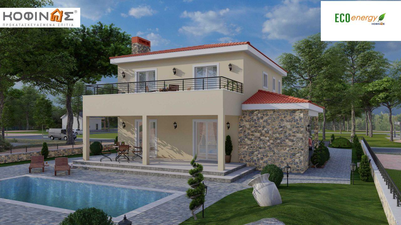 Διώροφη Κατοικία D-179, συνολικής επιφάνειας  179.38 τ.μ., +Γκαράζ 19.42 τ.μ. (=198.80 m²), συνολική επιφάνεια στεγασμένων χώρων 30.90 τ.μ., μπαλκόνια 23.51 m² featured image
