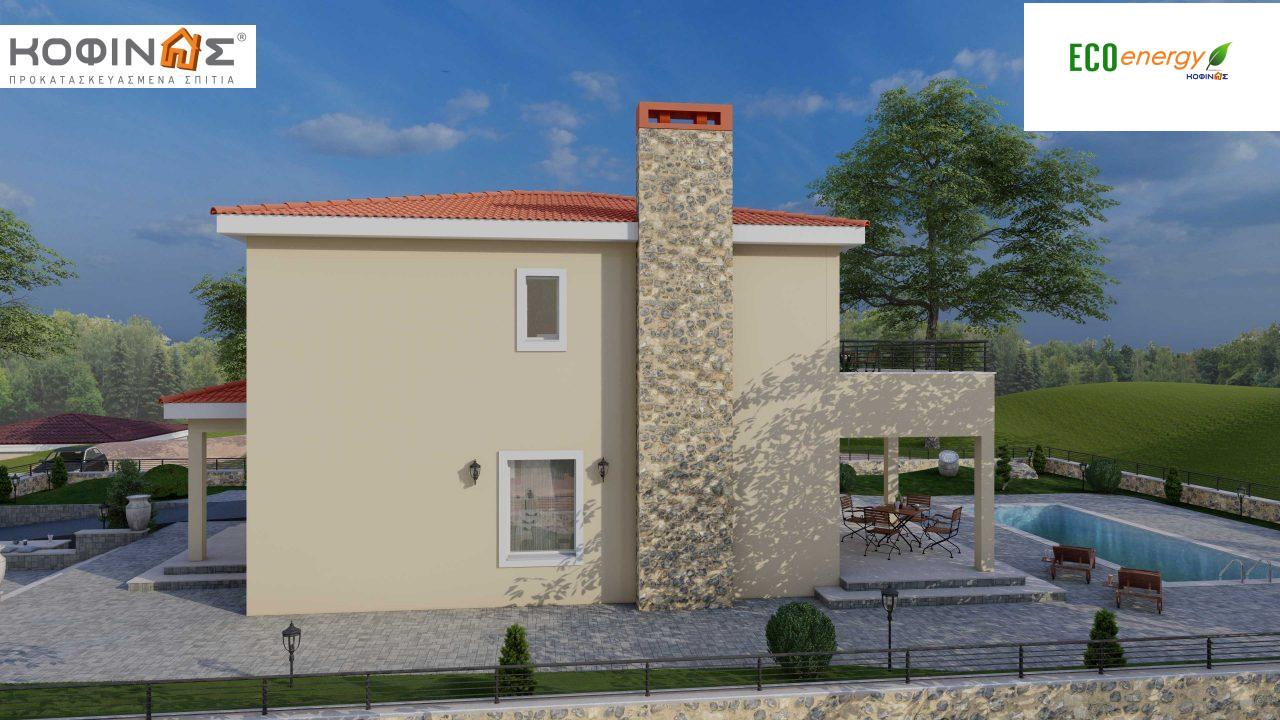 Διώροφη Κατοικία D-179, συνολικής επιφάνειας  179.38 τ.μ., +Γκαράζ 19.42 τ.μ. (=198.80 m²), συνολική επιφάνεια στεγασμένων χώρων 30.90 τ.μ., μπαλκόνια 23.51 m²7
