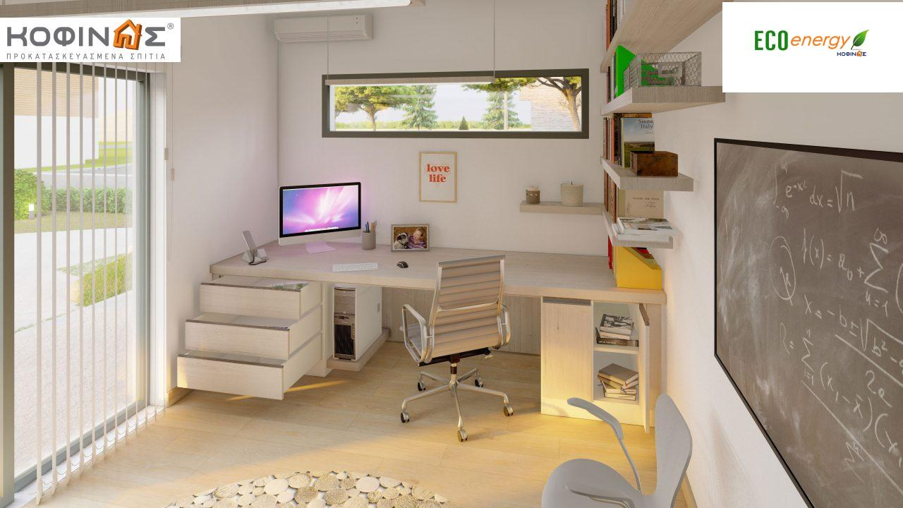 Διώροφη Κατοικία D-200, συνολικής επιφάνειας 200.08 τ.μ. ,+Γκαράζ 20.82 m²(=220.90 m²) συνολική επιφάνεια στεγασμένων χώρων 34.40 τ.μ., μπαλκόνια 32.27 τ.μ.9
