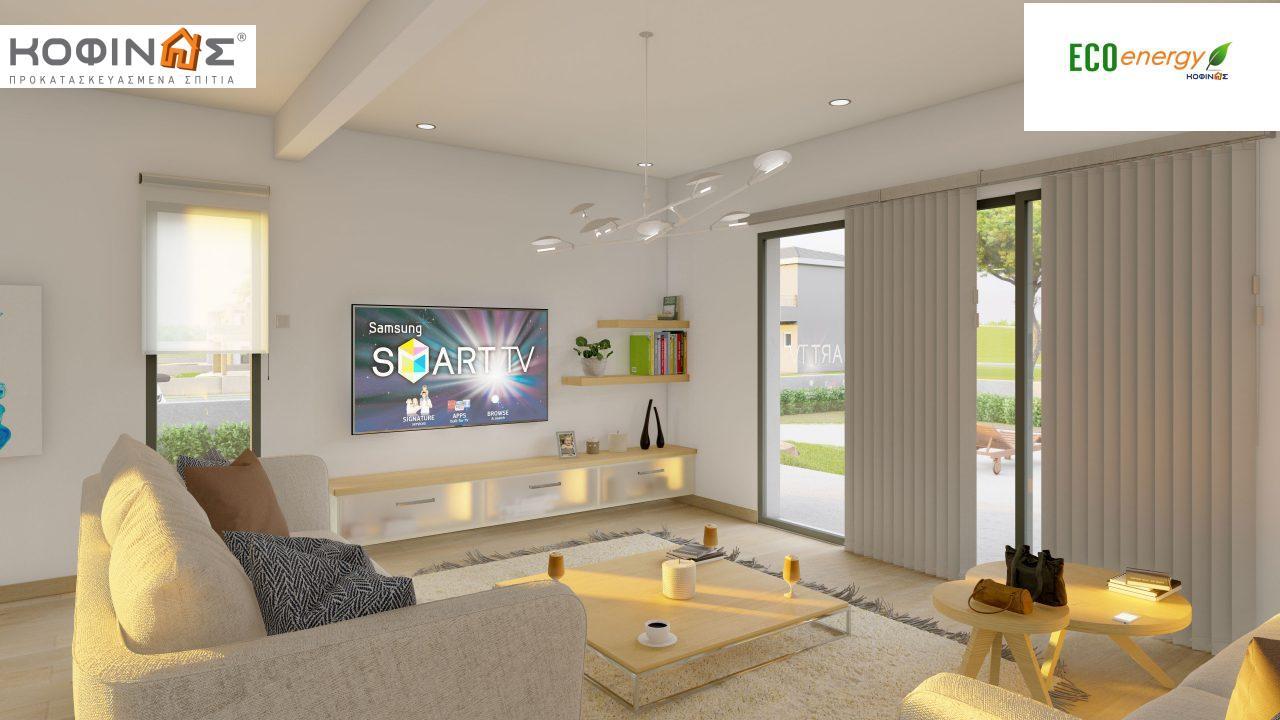 Διώροφη Κατοικία D-200, συνολικής επιφάνειας 200.08 τ.μ. ,+Γκαράζ 20.82 m²(=220.90 m²) συνολική επιφάνεια στεγασμένων χώρων 34.40 τ.μ., μπαλκόνια 32.27 τ.μ.7