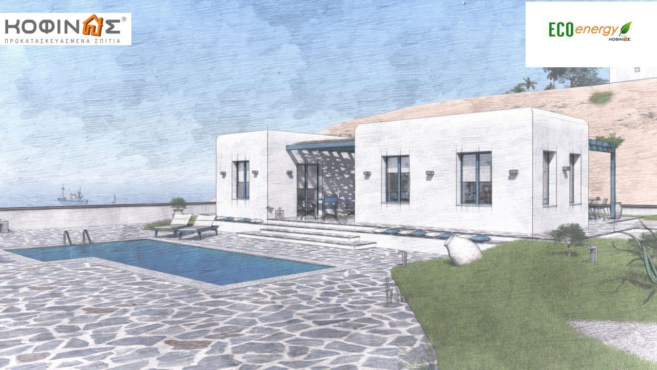 Ισόγεια Κατοικία I-93 συνολικής επιφάνειας 93,12 τ.μ., στεγασμένοι χώροι 21,03 τ.μ7