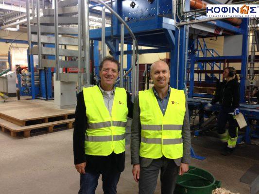 Visit of KOFINAS SA to the VIDA factory in 2014