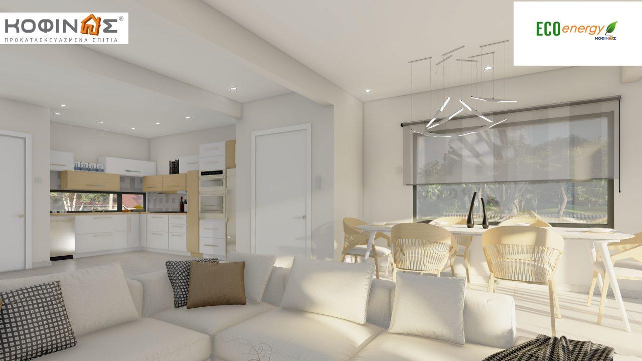 Διώροφη κατοικία D 183Α, συνολικής επιφάνειας 183,77 τ.μ.,+Γκαράζ 41,98 m²(=225,75 m²), στεγασμένοι χώροι 64,39 τ.μ., και μπαλκόνια 32.9 τ.μ.12